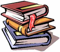 [Image: clip art of a stack of books.]