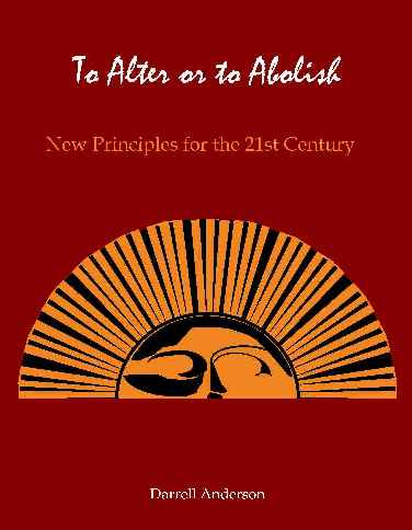 [Image: Book Cover for To Alter or to Abolis.]